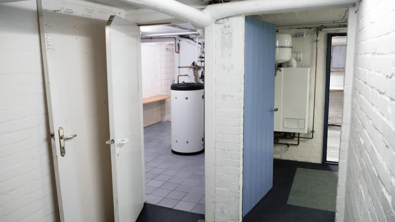 Eine Brennstoffzellenheizung in einem Keller
