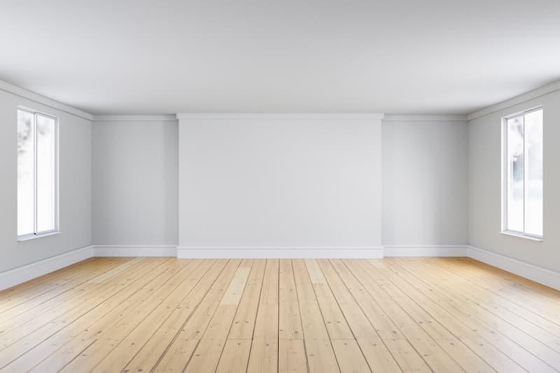 Ein leerer Raum - wie nimmt man die Wohnflächenberechnung richtig vor?