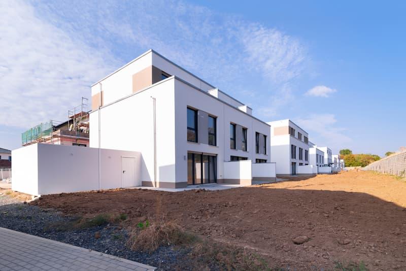 Ein Neubau in Deutschland als Massivbau