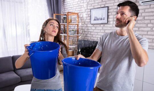 Was ist bei einem Wasserschaden in der Mietwohnung zu tun?