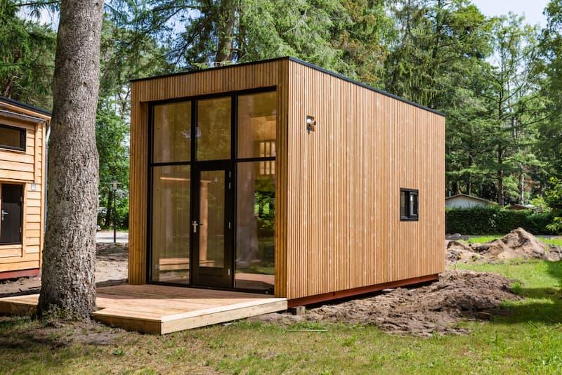Neu errichtetes Tiny House