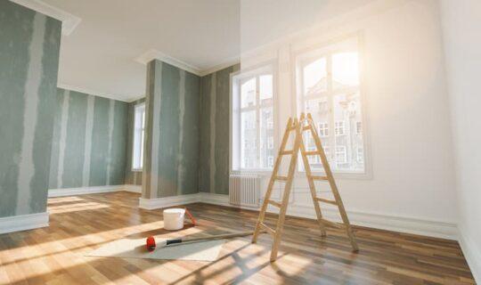 Wie kann man eine Wohnung sanieren?